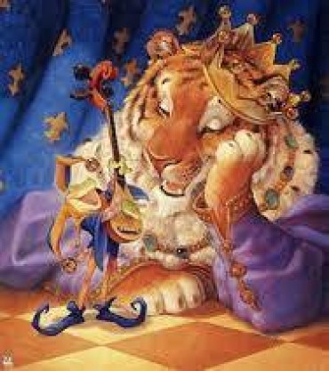 The Lion That Plays The Guitar Tale